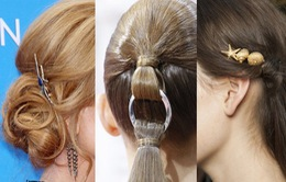 """10 phụ kiện """"hot"""" nhất cho mái tóc Hè 2015"""