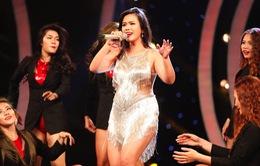 Phương Vy bầu 5 tháng vẫn nhảy sung tại Học viện ngôi sao 2015