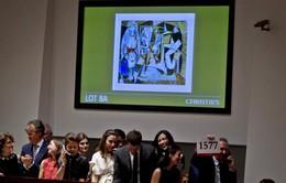Tranh sơn dầu của Picasso lập kỷ lục giá mới