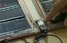 Học sinh tự chế tạo pin năng lượng mặt trời
