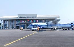 Sân bay Pleiku hoạt động trở lại từ 1/9