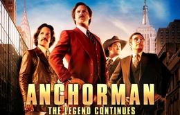 """Thư giãn cùng """"Anchorman 2: The Legend Continues"""" trên HBO"""