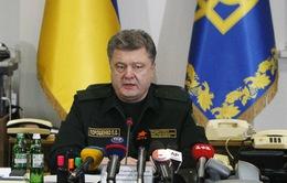 Ukraine: Quân đội chính phủ rút vũ khí hạng nặng ra khỏi chiến tuyến