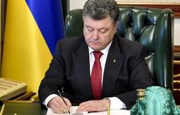 Tổng thống Ukraine ký ban hành luật bầu cử địa phương