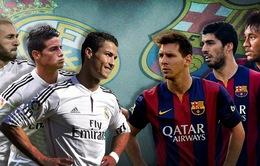 Real Madrid - Barcelona: Đại tiệc bóng đá tấn công tại Bernabeu (0h15, 22/11)
