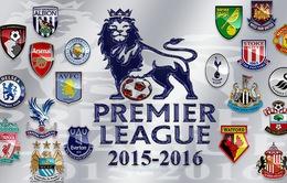 Lịch phát sóng và TTTT vòng 1 Ngoại hạng Anh 2015/16: Tưng bừng khai hội