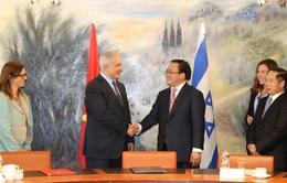 Phó Thủ tướng Hoàng Trung Hải hội đàm với Thủ tướng Israel
