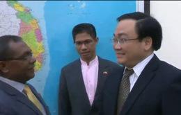 PTTg Hoàng Trung Hải tiếp Bộ trưởng Bộ Thương mại, Công nghiệp và môi trường Timor Leste