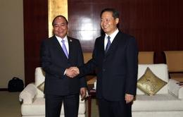 Phó Thủ tướng Nguyễn Xuân Phúc tiếp Bí thư Khu ủy Khu tự trị dân tộc Choang Quảng Tây