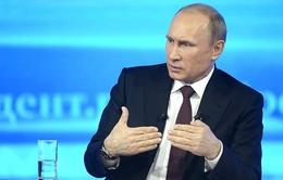 Gần 3 triệu câu hỏi được người dân nêu ra cho Tổng thống Nga Putin