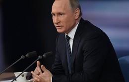 Tổng thống Nga khẳng định nền kinh tế đã vượt đáy khủng hoảng