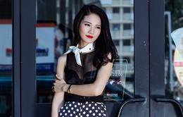 Hoa hậu Thể thao Trần Thị Quỳnh khoe vẻ đẹp gợi cảm