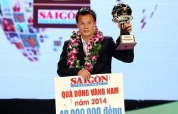 Thành Lương đoạt QBV 2014, Tuấn Anh là cầu thủ trẻ xuất sắc nhất năm