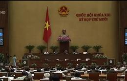 Quốc hội thông qua Nghị quyết chương trình mục tiêu Quốc gia giai đoạn 2016 - 2020