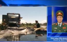 Huy động quân đội cứu trợ vùng khô hạn tại Ninh Thuận