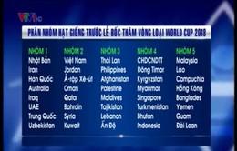 Kết quả phân nhóm hạt giống bốc thăm vòng loại World Cup 2018