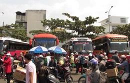 TP. HCM: Hết Tết, hàng nghìn người đổ về thành phố trong đêm