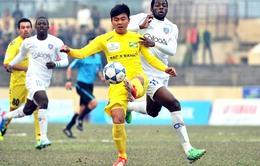 QNK Quảng Nam chuẩn bị cho trận ra quân V-League 2015