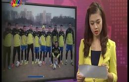 Hà Nội T&T chuẩn bị thi đấu với FC Seoul