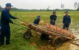 Tháo dỡ thành công quả bom nặng gần 1 tấn ở Hà Tĩnh
