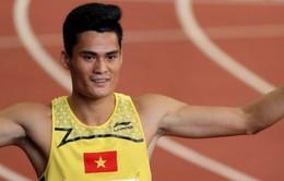 """Quách Công Lịch và Nguyễn Thị Huyền giành """"vàng"""" ở giải châu Á"""