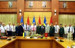 Thượng tướng Trương Quang Khánh tiếp đoàn cựu chiến binh Ukraine