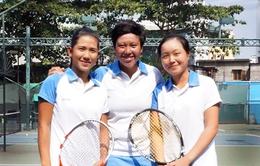 SEA Games 28:ĐT quần vợt nữ Việt Nam quyết tâm lên hạng