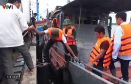 Đà Nẵng: Cứu nạn thành công 2 tàu cá gặp nạn do bão