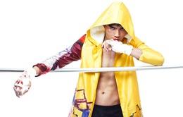 """Quang Hùng mang """"sắc lạnh"""" trong hình ảnh võ sĩ"""