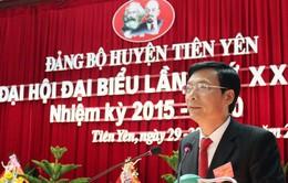 Đại hội điểm cấp huyện bầu trực tiếp Bí thư tại Quảng Ninh
