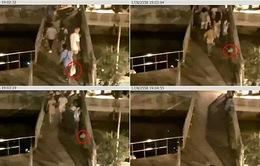 Thái Lan công bố video kẻ tình nghi trong vụ nổ bom ở cảng Sathorn