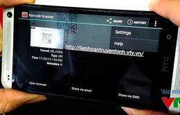 Quét mã QR - Cách thức mới truy cập trang thông tin LHTHTQ