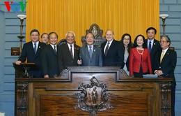 Chủ tịch Quốc hội gặp Chủ tịch Hạ viện bang Massachusetts, Hoa Kỳ