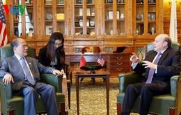 Chủ tịch Quốc hội gặp Chủ tịch Thượng viện bang Massachusetts, Hoa Kỳ