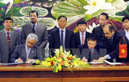 Quỹ Kuwait hỗ trợ Nam Định nâng cấp hạ tầng thủy lợi