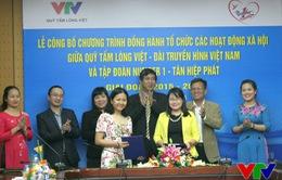 Quỹ Tấm lòng Việt phối hợp với Tập đoàn Tân Hiệp Phát tổ chức các hoạt động từ thiện