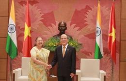 Chủ tịch Quốc hội tiếp Chủ tịch Hạ viện Ấn Độ