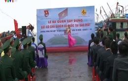Xây dựng cột cờ chủ quyền tại đảo Mắt