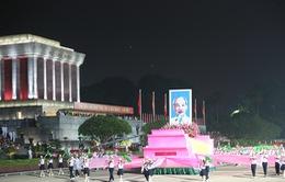 Không khí hăng say luyện tập trong lễ tổng duyệt kỷ niệm 70 năm Quốc khánh