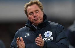 HLV Harry Redknapp chia tay QPR vì lý do sức khỏe