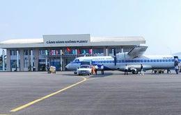 Cảng hàng không Pleiku hoạt động trở lại từ 1/9