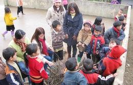 Lào Cai tăng cường biện pháp chống rét cho học sinh