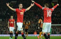 Van Persie có cơ hội tái ngộ Man Utd tại Champions League