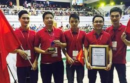 Đội tuyển Việt Nam vô địch Robocon châu Á - Thái Bình Dương về nước