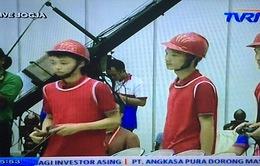 ABU Robocon 2015: Đánh bại Indonesia 1, Việt Nam vào Chung kết
