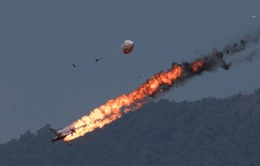Hai máy bay Indonesia đâm nhau khi tập luyện