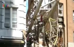 Mỹ: Rơi cần cẩu, 10 người bị thương