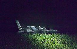 Rơi máy bay ở Uruguay, ít nhất 7 người thiệt mạng