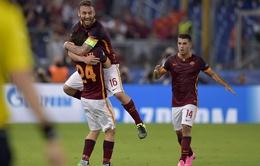 AS Roma 1-1 Barcelona: ĐKVĐ bị cầm hòa vì bàn thắng không thể tin được