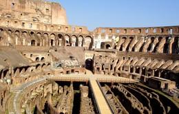 Italy sẽ xây lại mặt sàn cho đấu trường cổ Coliseum